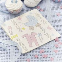 Tiny Feet Paper Napkins (16)